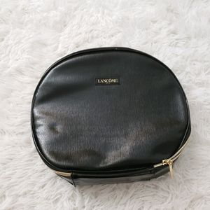 Lancome Cosmetic Faux Leather Cosmetic case